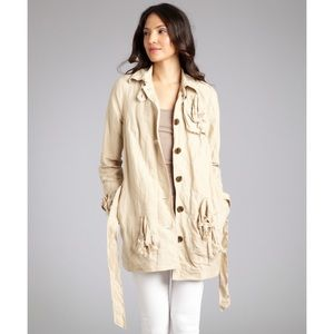 Gryphon New York Knot Trench Jacket